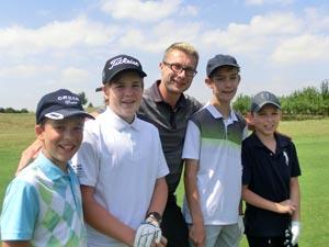 Podzimní dětské kurzy golfu