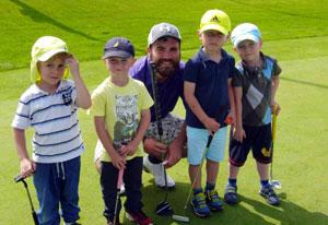 Na Black Bridge hrajeme golf za každého počasí!