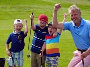 Dětské golfové kurzy na Black Bridge, to je především zábava!