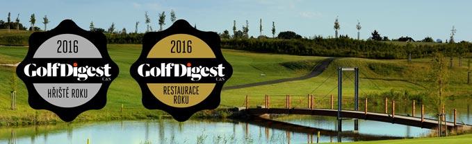 Z ocenění v anketě Golf Digest máme ohromnou radost!