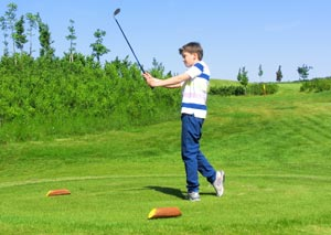 Dětský golf má na Black Bridge tradici, a proto jsme ho ještě více podpořili novými odpališti