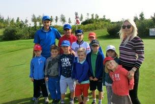 Dětský golf na Black Bridge